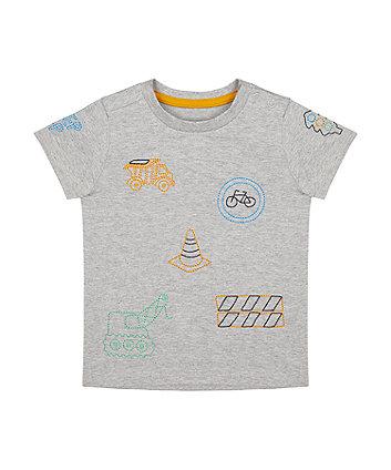 Mothercare Construction T-Shirt