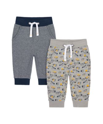 Mothercare Build It Joggers - 2 Pack
