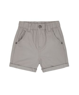Mothercare Build It Grey Twill Shorts
