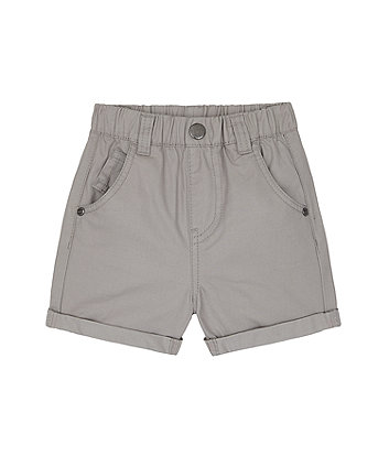 Mothercare Grey Beep Beep Twill Shorts