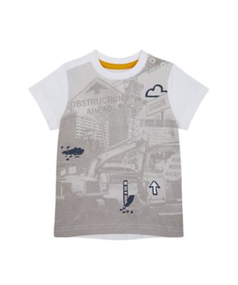 Mothercare Build It Photographic Short Sleeve T-Shirt