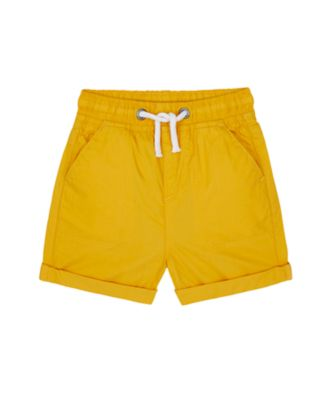 Mothercare Build It Mustard Poplin Short