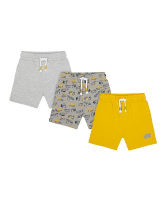 Mothercare Build It Construction Shorts - 3 Pack