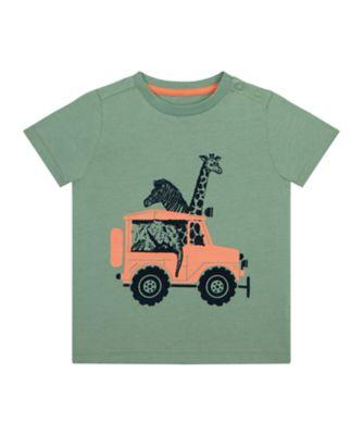 Mothercare Travel Blog Khaki Safari Epp Short Sleeve T-Shirt