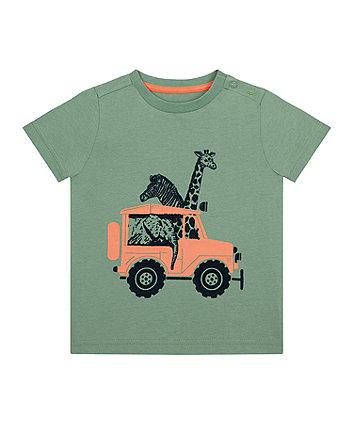 Mothercare Khaki Safari T-Shirt