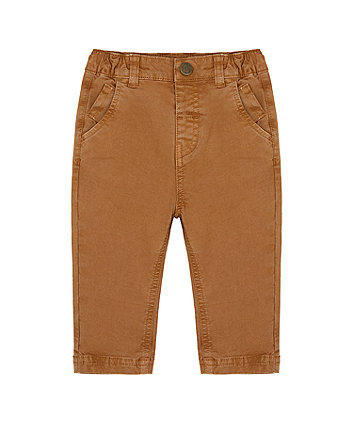 Mothercare Brown Chino Trousers