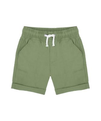 Mothercare Travel Blog Khaki Poplin Short