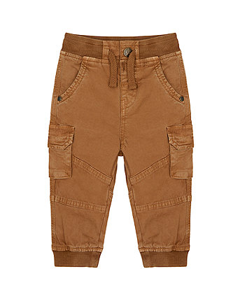 Mothercare Brown Cargo Trousers