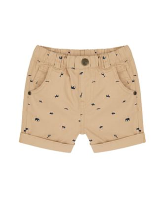 Mothercare Travel Blog Tan Aop Animal Short