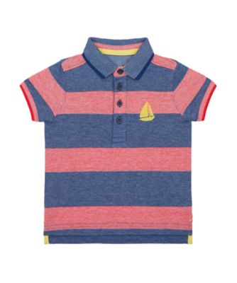 Mothercare Nautical Stripe Yacht Polo T-Shirt