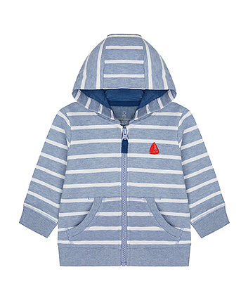 Mothercare Striped Yacht Hoody
