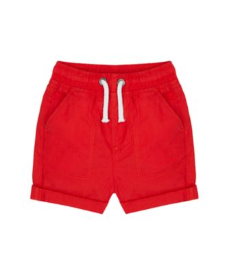 Mothercare Nautical Red Poplin Short