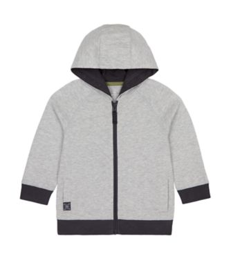 Mothercare Tropic Cool Grey Good Vibes Hoody