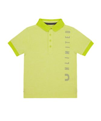 Mothercare Tropic Cool Lime Unlimited Polo T-Shirt