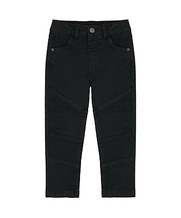 Mothercare Black Biker Trousers