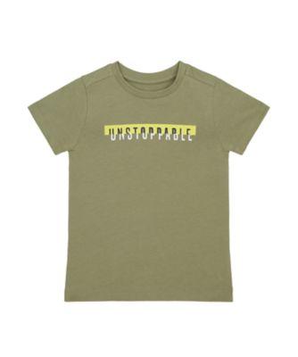 Mothercare Tropic Cool Khaki Unstoppable Uber Short Sleeve T-Shirt