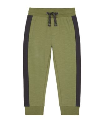 Mothercare Tropic Cool Khaki Side Stripe Jogger