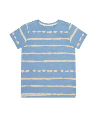 Mothercare Earth Surf Tie Dyed Stripe Short Sleeve T-Shirt