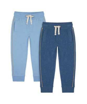 Mothercare Earth Surf Blue Joggers - 2 Pack