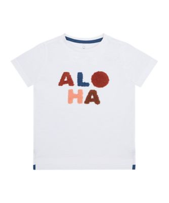 Mothercare Earth Surf Aloha Boucle Short Sleeve T-Shirt