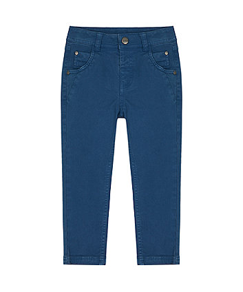 Navy Chino Trousers [SS21]