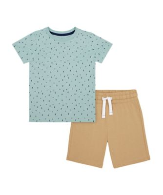Mothercare Yacht Club Short Sleeve T-Shirt And Shorts
