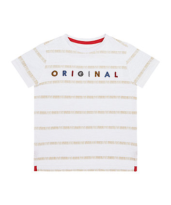 Mothercare Original Striped T-Shirt