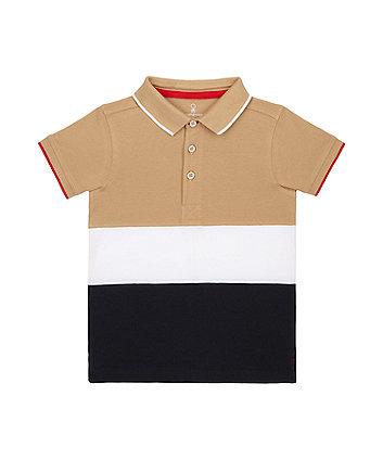 Mothercare Striped Polo Shirt