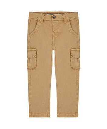 Mothercare Tan Cargo Trousers