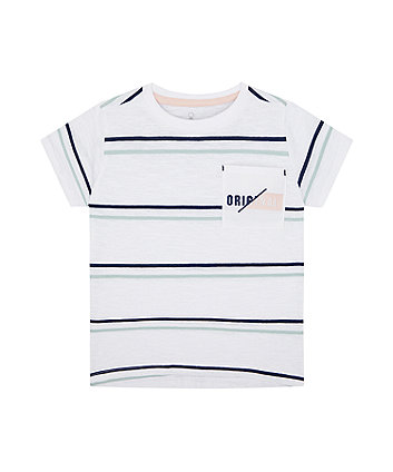 Mothercare Original Striped T-Shirt