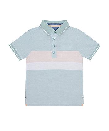 Mothercare Block Stripe Polo Shirt