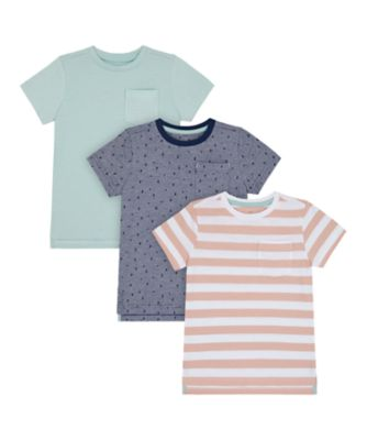 Mothercare Yacht Club Short Sleeve T-Shirt - 3 Pack