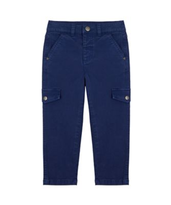 Mothercare Yacht Club Navy Slim Cargo Trouser