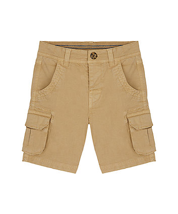 Mothercare Tan Cargo Shorts