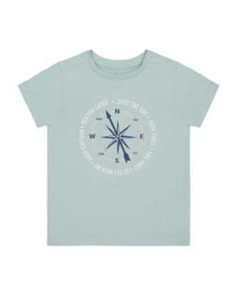 Mothercare Yacht Club Blue Seas The Day Uber Short Sleeve T-Shirt