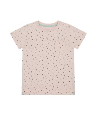 Mothercare Yacht Club Pink Allover Print Short Sleeve T-Shirt