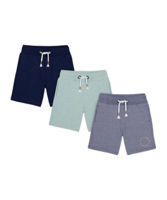 Mothercare Yacht Club Shorts - 3 Pack