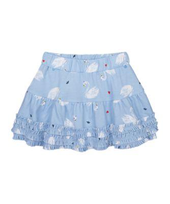 Mothercare Swan Lake Swan Print Skirt