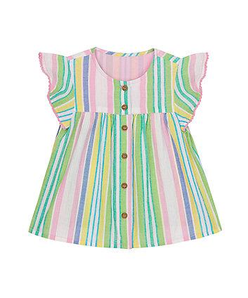 Mothercare Multi-Stripe Blouse