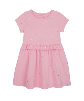 Mothercare Just Pretend Pink Spot Epp Jersey Short Sleeve Dress
