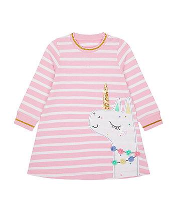 Pink Llamacorn Sweat Dress [SS21]