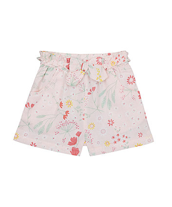 Pink Spring Meadow Shorts [SS21]