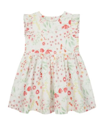 Mothercare Spring Meadow Epp Floral Woven Dress