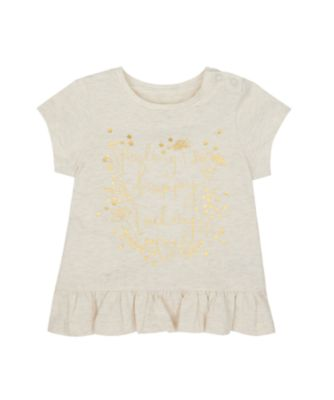 Mothercare Spring Meadow Feeling Happy Short Sleeve T-Shirt