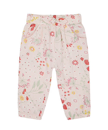 Mothercare Spring Meadow Floral Trousers