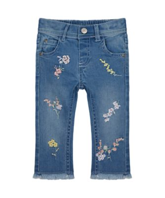 Mothercare Spring Meadow Light Wash Embroideried Jeans