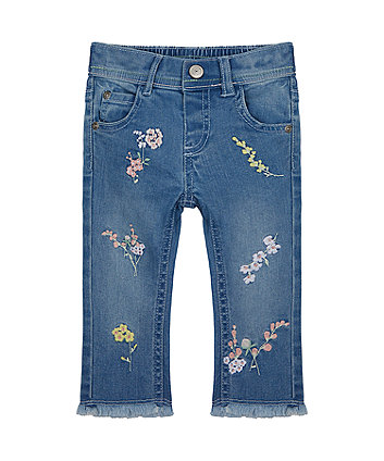 Mothercare Embroidered Jeans