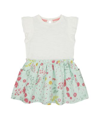 Mothercare Spring Meadow Twoffer Dress
