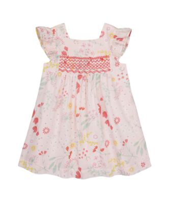 Mothercare Spring Meadow Woven Dress With Smocking
