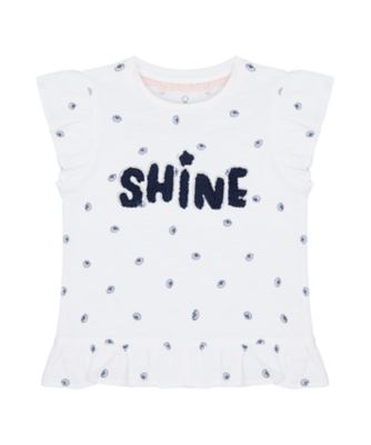 Mothercare Save Our Seas Allover Print Shine Short Sleeve T-Shirt